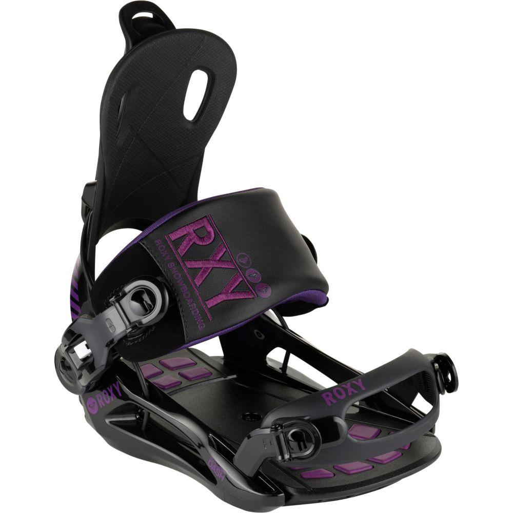 Roxy rock it dash snowboardbindung damen schwarz/lila im online ...
