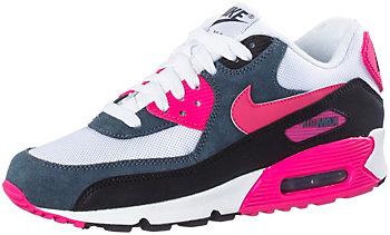 Nike Air Max 90 Damen Pink Weiß Grau