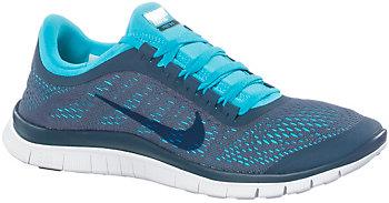 Nike Free 3.0 Türkis Grau