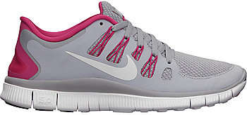Nike Free 5.0 Damen Pink Grau