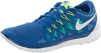 Nike Free 5.0 Blue Orange Womens Running Shoes