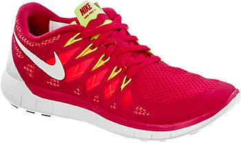 Nike Free 5.0 Damen Rot Weiß