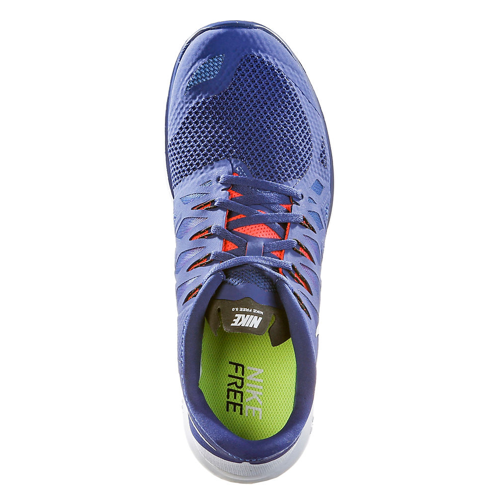 Nike Free 5.0 Blau Neon Rot