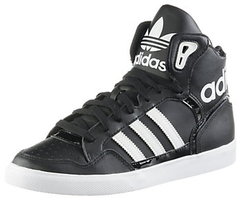 Adidas Extaball Weiß Schwarz