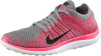 Nike Free Flyknit Damen Grau