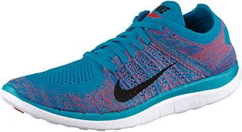Nike Free 4.0 Flyknit Damen Blau