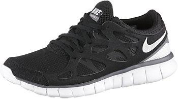Nike Free Run 2 Schwarz Damen