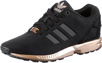 Adidas Schwarz Gold Zx Flux