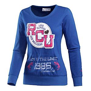 Rocxygen Printlangarmshirt Damen blau