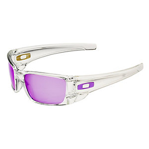 Oakley Fuel Cell Sonnenbrille Herren polished clear/violet iridium