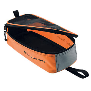 Black Diamond Crampon Bag Steigeisentasche orange