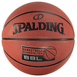 Spalding BBL Outdoor Größe 7 Basketball orange