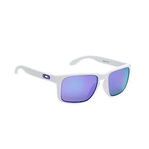 Oakley Holbrook Sportbrille matte white/violet iridium
