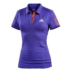 adidas Tennis Polo Damen blau/rot