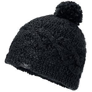 Marmot Chunky Pom Bommelmütze Damen schwarz