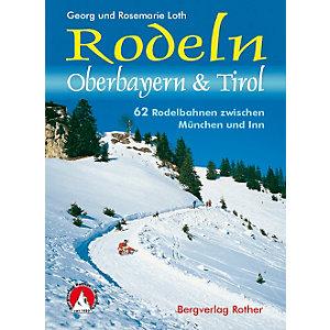Bergverlag Rother Rodeln Oberbayern & Tirol Buch -