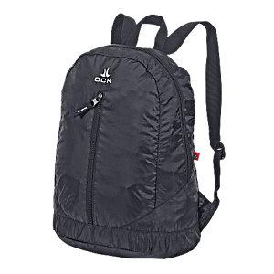 OCK faltbarer Rucksack Reiserucksack in schwarz, Größe Einheitsgröße