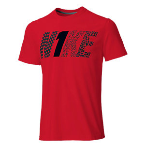 Nike Printshirt Herren rot