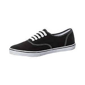 Vans Authentic Lo Pro Sneaker Damen schwarz