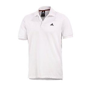Poloshirt Weiß Hinten