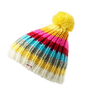 Maui Wowie Bommelmütze Damen bunt/gelb/pink