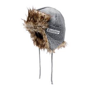 Eisbär Iceland Fliegermütze Damen hellgrau