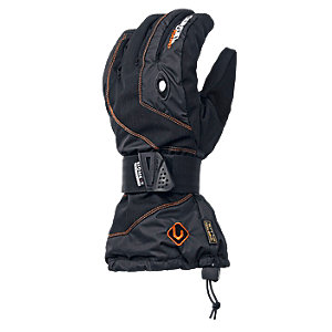 Level Snowboardhandschuhe Herren schwarz/orange