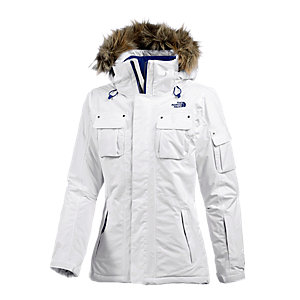 The North Face Baker Skijacke Damen weiß