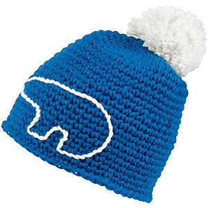 Eisbär Jay Pompon Bommelmütze blau/weiß