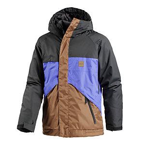WLD New Morgan Snowboardjacke Herren schwarz/blau/braun
