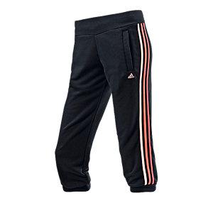 adidas Essential Sweathose Damen schwarz/himbeer