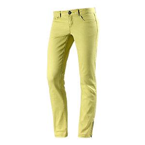 Maui Wowie Skinny Fit Jeans Damen gelb
