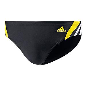 adidas Badehose Herren schwarz/gelb/weiß