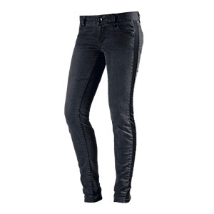 TOM TAILOR Skinny Fit Jeans Damen black denim