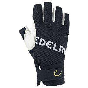 EDELRID Work Open Kletterhandschuhe schwarz/weiß