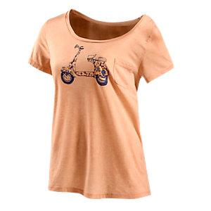 Quiksilver Women Bournout Printshirt Damen koralle