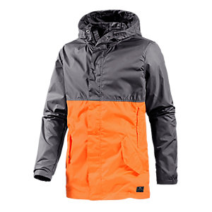 Nike Division Windbreaker Herren orange/grau