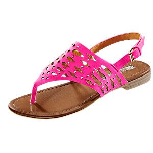 Buffalo Zehensandalen Damen pink