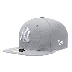 New Era 59fifty Yankees Cap grau/weiß