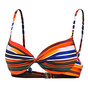 Screwball Bikini Oberteil Damen orange