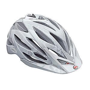 Bell Variant Fahrradhelm weiß/silberfarben