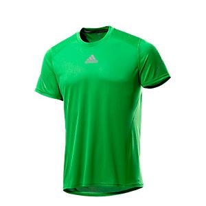adidas Laufshirt Herren grün
