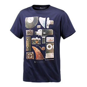 Billabong Schematic Printshirt Herren navy