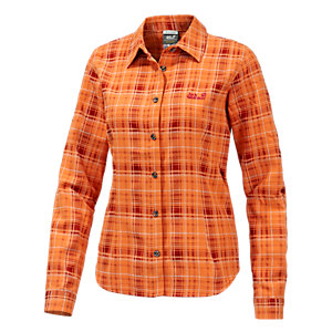 Jack Wolfskin Valley Funktionsbluse Damen orange