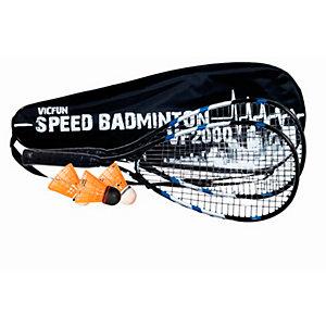 Victor VF 2000 Badminton Set schwarz/blau