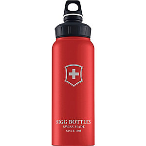 SIGG WMB Swiss Emblem 1,0L Trinkflasche rot