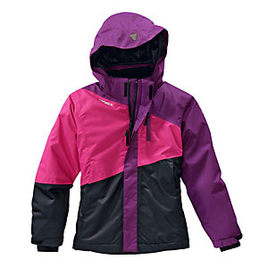 ICEPEAK Skijacke Kinder lila/pink/schwarz