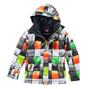 quiksilver redemption snowboardjacke jungen grau orange im online shop von sportscheck kaufen. Black Bedroom Furniture Sets. Home Design Ideas