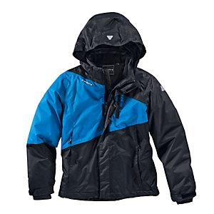 ICEPEAK Skijacke Kinder anthrazit/blau/schwarz