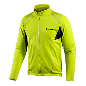 SCOTT Helium AS Shirt Fahrradtrikot Herren limette